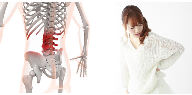 腰痛や坐骨神経痛の症状