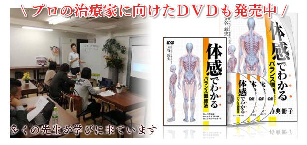 プロの治療家に向けたDVDも発売中